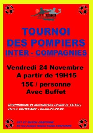 TOURNOI DES POMPIERS