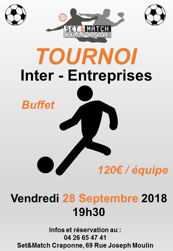 TOURNOI FOOT INTER-ENTREPRISES