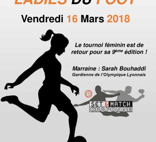 LADIES DU FOOT 2018