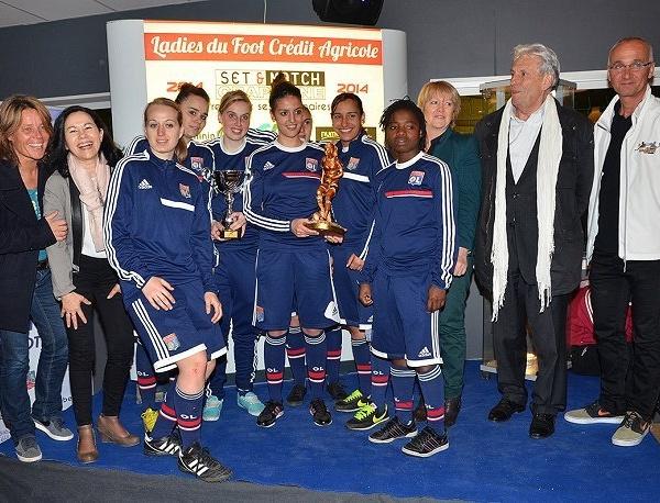 Ladies du Foot Crédit-Agricole Set&Match Craponne - A la fin, c'est l'OL qui gagne !